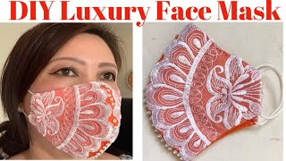 149 How To Make Face Mask For Special Occasions The Twins Day Easy Hand Sew Face Mask Tutorial