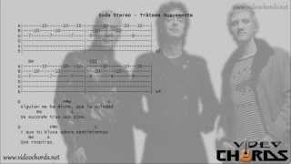 Soda Stereo - Trátame Suavemente (Acordes para Guitarra en Video)