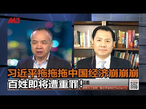 张洵 陈小平:中国经济崩崩崩,习近平拖拖拖,百姓即将遭重罪!