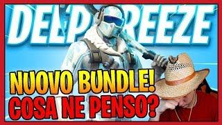 Conviene SHOPPARE il NUOVO BUNDLE di Fortnite! SKIN DEEP FREEZE! Fortnite Battle Royale