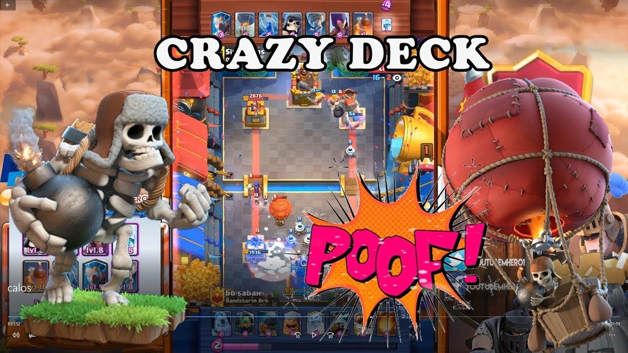 Giant Skeleton Balloon Deck Grand Champion Gameplay Youtube