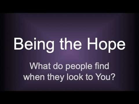 Being the Hope (Matthew 5:13–20) by Pastor Tim Freidel