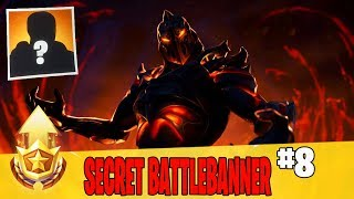 Secret Battle Banner in Week 8 Location Guide in Fortnite // FREE Battle Pass Banner in Season 8