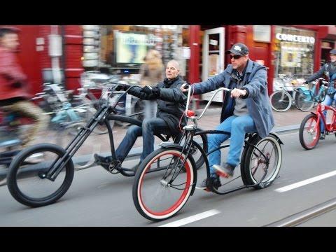 KTC @ Quadrupel Beer Custom-bike Cruise Amsterdam 2014