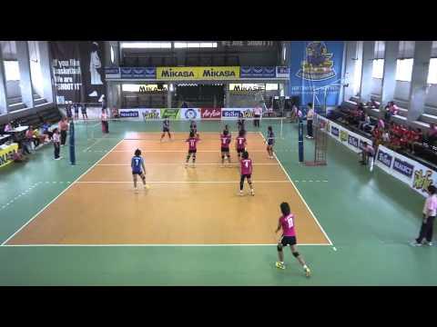 volleyball วอลเลย์บอลเยาวชนหญิงชิงชนะเลิศแห่งประเทศไทย