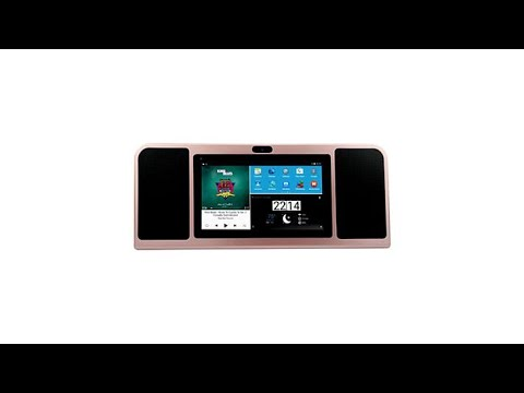 Azpen Tabletop 7 16GB Android Tablet and Speaker