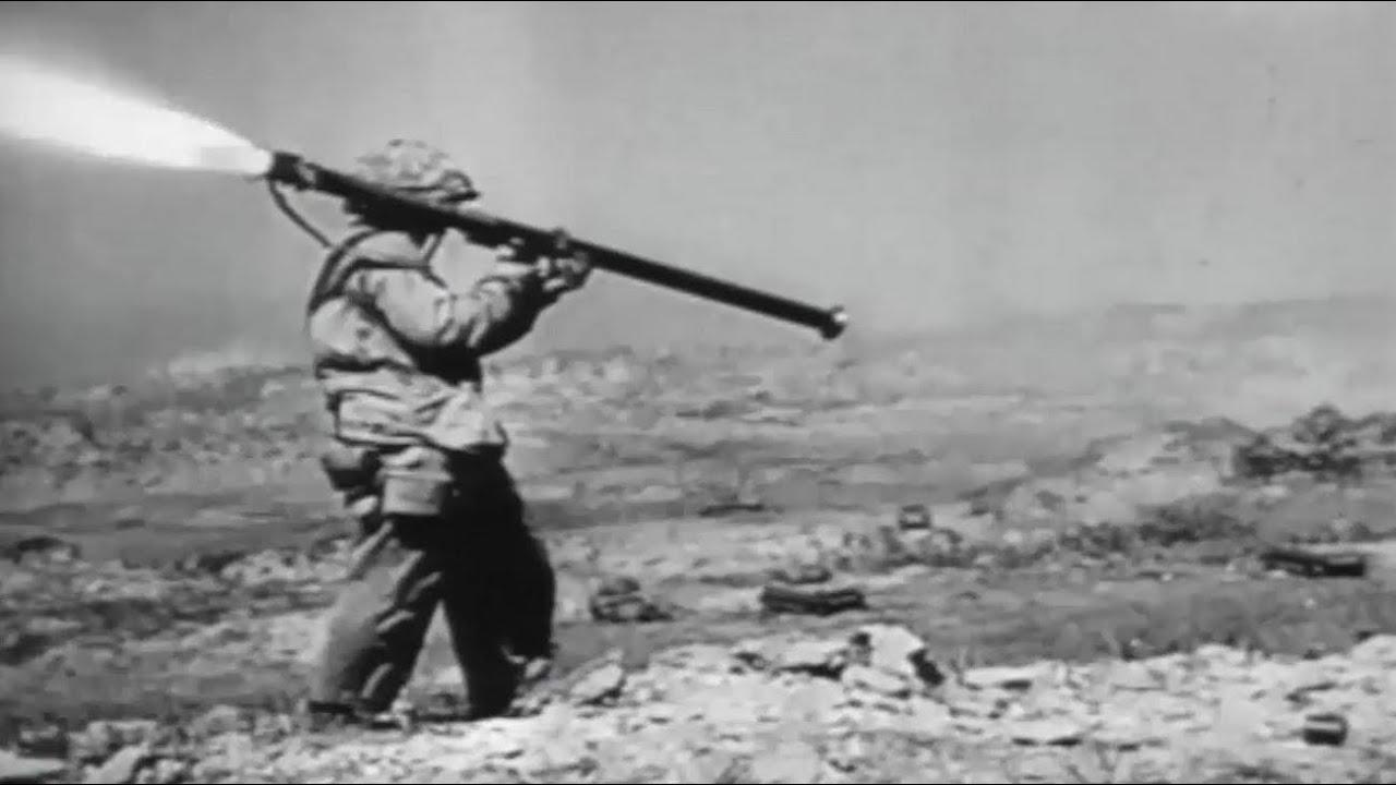 Battle of Iwo Jima US Marines In Heavy Combat WW2 Footage with ...