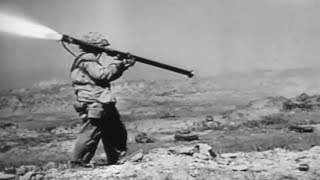 Battle of Iwo Jima US Marines In Heavy Combat WW2 Footage with Sound