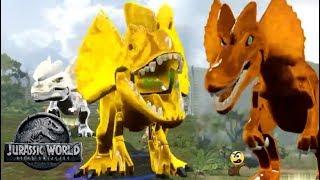 LEGO Jurassic World - Dinossauros de prata, bronze e ouro - Caraca Games