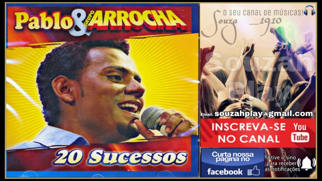 novo cd pablo arrocha 2011