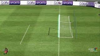 صدق او لا تصدق هذا الهدف لم يتم احتسابه لصالح برشلونة في مباراته  ضد ريال بيتيس 29-01-2017-HD