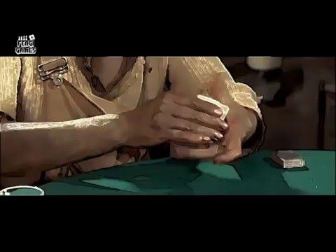 Saloon the spaghetti western poker card game - teaser Trinità