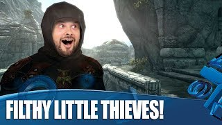 Skyrim - Let's Steal Those Trophies!