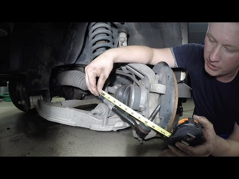 How To Replace An Outer Tie Rod End Properly