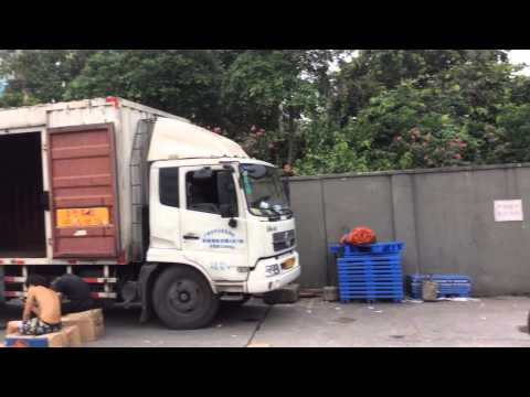 Guangzhou wholesale market and shipment consolidation