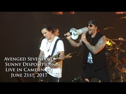 Avenged Sevenfold - Sunny Disposition (Live in Camden, NJ 6/21/17)