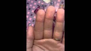 Aquarium nails Babó Nails Miskolc