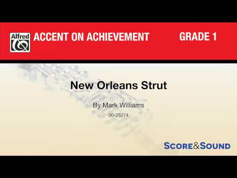 New Orleans Strut, by Mark Williams – Score & Sound