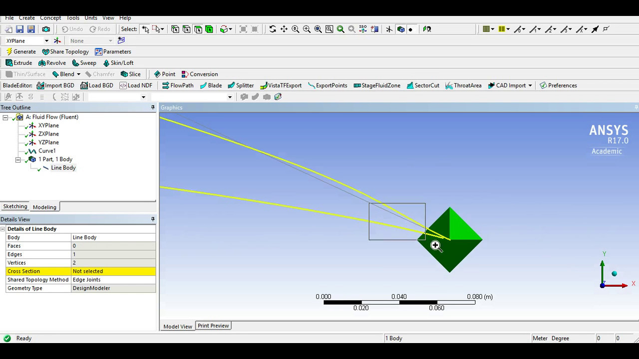 How to import and format airfoil co-ordinates for ANSYS Fluent