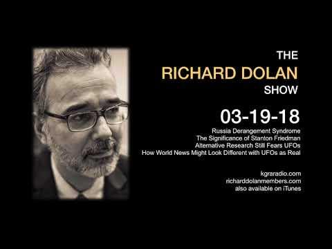 Richard Dolan Show March 19, 2018