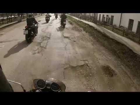 Открытие мотосезона 2015 г. Шахунья