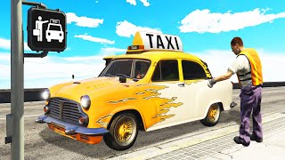 Be A TAXI DRIVER With This *NEW* CAR! (GTA 5 DLC)