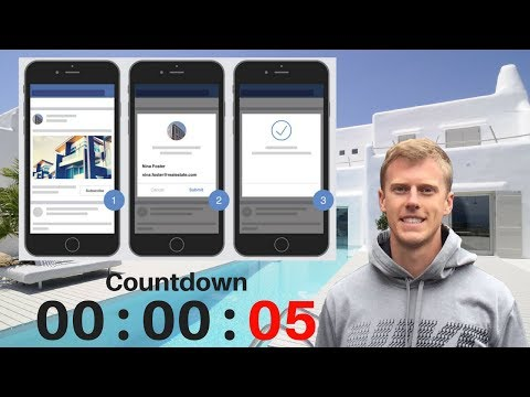 How To Create A Real Estate Facebook Ad, Landing Page & 10-Day Email & SMS Follow Up In 20 Seconds!
