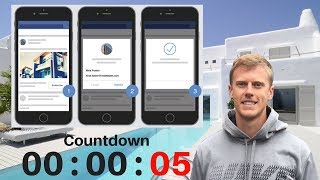 So Erstellen Sie Ein Immobilien Facebook Ad, Landing Page & 10-Tag E-Mail - & SMS-Follow-Up In 20 Sekunden!