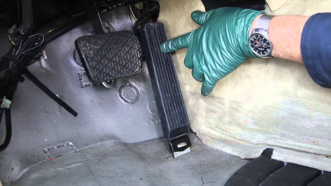 Throttle Pedal And Linkage Maintenance To Benz