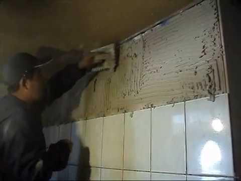 Instalacion ceramicas en muro instalaci n de ceramica Como colocar ceramica en pared