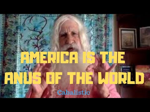 Kabbalah, The Earth Is A Human Body, America Is The World's Butt, Cabalistic News