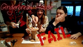 GINGERBREAD HOUSE FAIL Thumbnail
