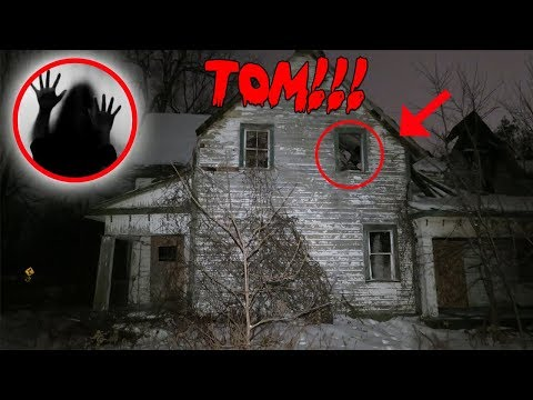 I FOUND TOMS HAUNTED HOUSE IN A DIFFERENT COUNTRY!! SUPER HAUNTED!!