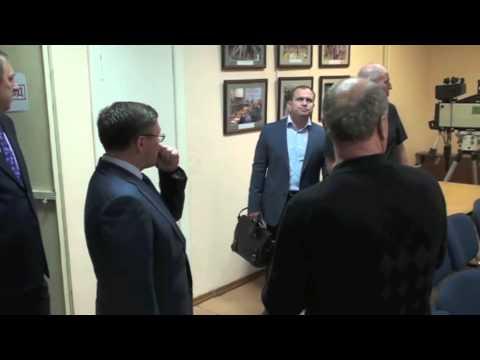 Визит губератора в Тюменский дом печати