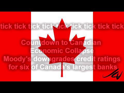 Canada Economic Crisis as Banks downgraded, Consumer debt at record high  - YouTube