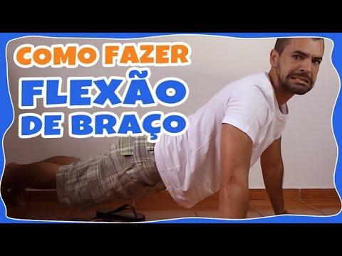 COMO FAZER FLEXÃO DE BRAÇO EM 3 PASSOS