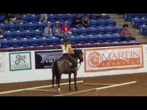 Mary Miller Jordan & Flying Colors -  Mustang Million 2013