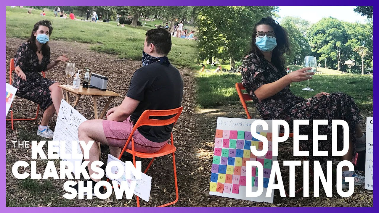 Woman's Speed Dating Stand In NYC Park Goes Viral