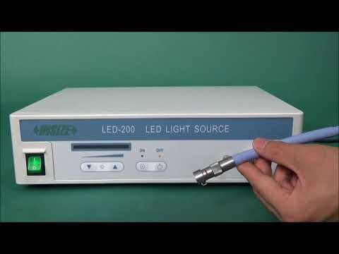 Insize ISV 1LED1 Optical Tools Operation - Cutwel TV