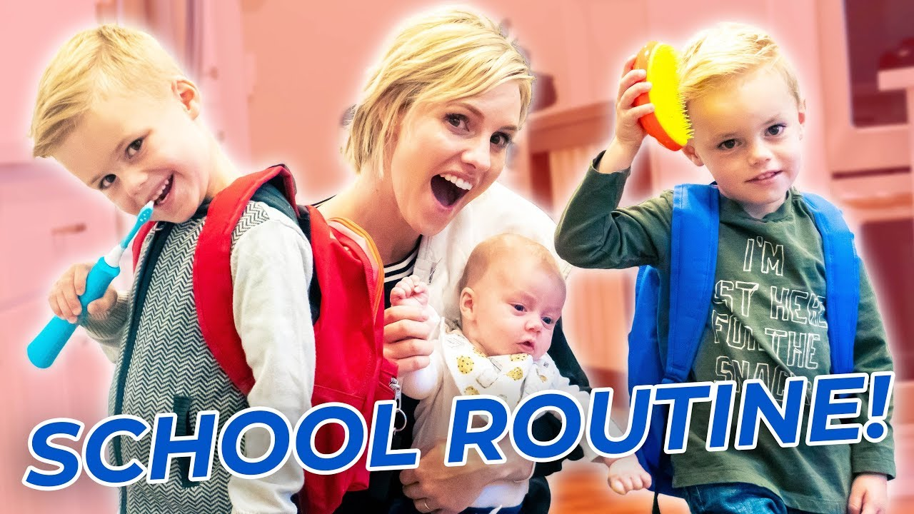 Morning School Routine! Getting Ready With 3 KIDS!