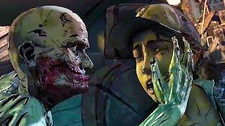 THE WALKING DEAD Telltale Game Season 4 Episode 1 - 15 Minutes Gameplay Walkthrough
