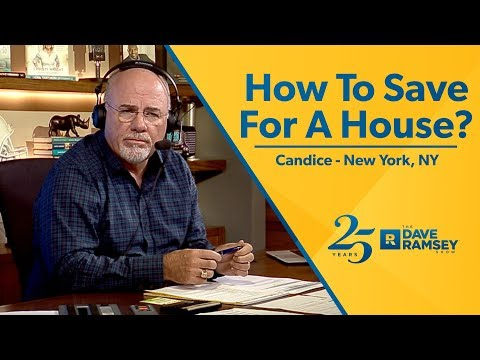 How To Save For A House?