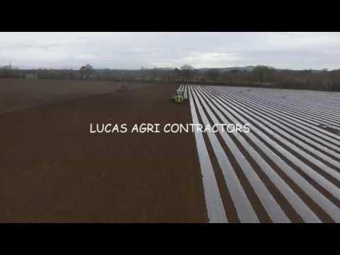 Sowing Maize with Lucas Contracts Co. Carlow