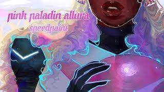 The Pink Paladin 💕 Allura VLD 💕 [speedpaint]