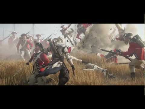 Assassins Creed 3 Trailer (I Wont Back Down)
