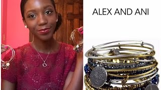 My Alex & Ani Bracelet Collection!