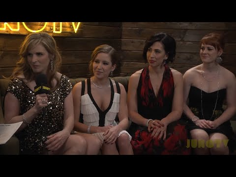 Team Jennifer Jones - Backstage at the 2014 JUNO Awards