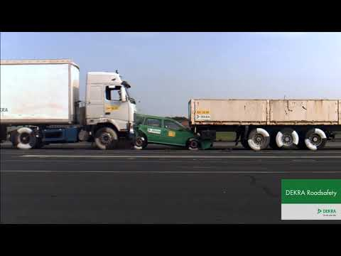 Brian Fink - Here's What Happens If A Truck Going Only 26 MPH Hits A Stopped Car