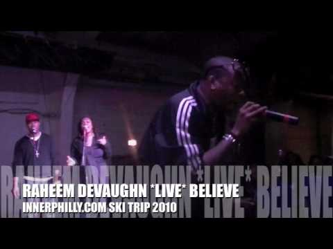 RAHEEM DEVAUGHN BELIEVE