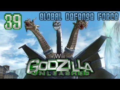 "Part 39 ""Story: Mecha-King Ghidorah (GDF)"" - Godzilla: Unleashed [Wii]"